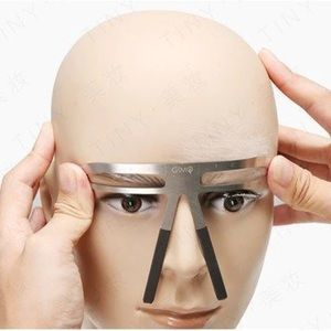 Other - Eyebrow Tattoo Stencil Ruler Shaper